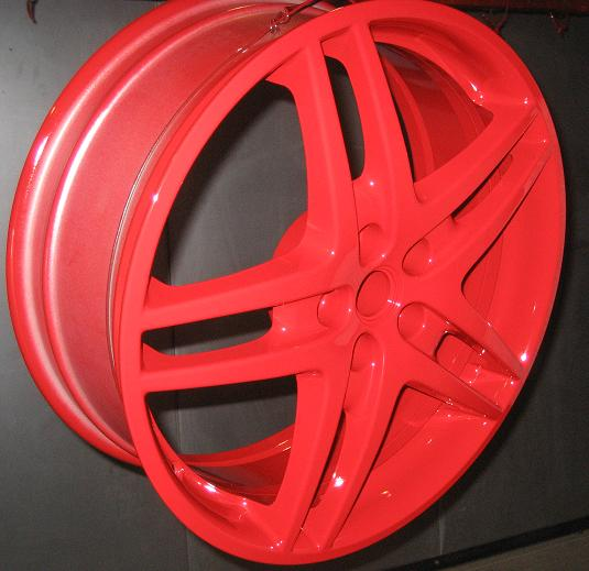 Red Wheel Image